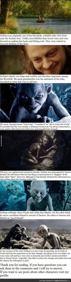 6 Gollum facts you may not have known