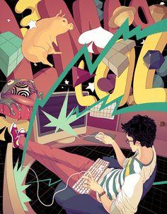 Teenage Wasteland Illustrations | Abduzeedo Design Inspiration