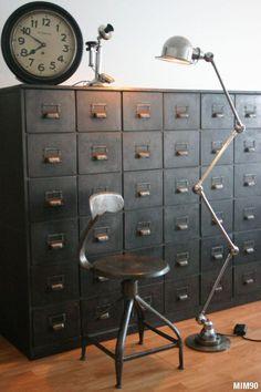 Meuble à tiroirs début XXe siècle - #boxlocker