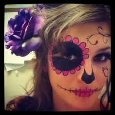 #Sugarskull #Makeup #Halloween No. 2