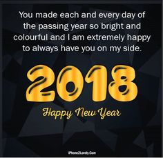 Boyfriend 2018 New Year Quotes Wishes Image