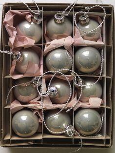 vintage Christmas decorations  {Sibella Court}