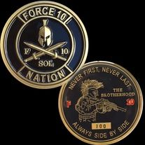 FORCE 10 Nation Coin sold by SOF Coin Designs. Shop more products from SOF Coin Designs on Storenvy, the home of independent small businesses all over the world.