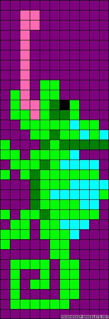 chameleon - alpha pattern