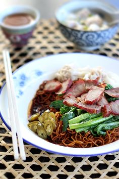 To Food with Love: Wonton Noodles (Wantan Mee)