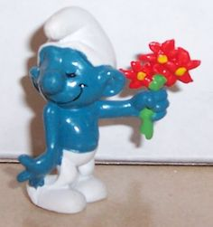 the smurfs toys from the 80s - Google Search