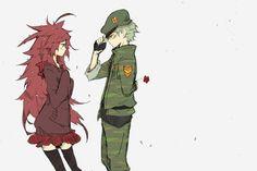 Tags: Anime, Pixiv, Happy Tree Friends, Flaky, Flippy