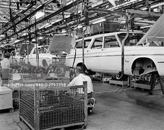 chrysler plymouth assembly line