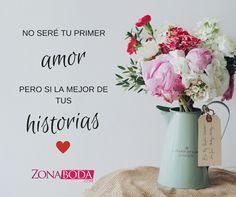 Nuestras historia de amor es la mas bonita!  #frasesdeamor #frasesbonitas #primeramor #historiasdeamor #historiasbonitas #novios #enamorados #bodas