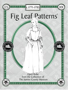 Best and cheap web host Fig Leaf Patterns 101 Gown c1771-1785,  sizes 18 to 28. $25.00, via Etsy.