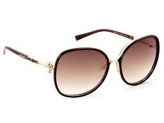 Γυαλιά ηλίου Ana Hickmann AH 3141 T01 Καφέ Χρυσό/Καφέ Ντεγκραντέ (T01) Πολυκαρβονικός 100% UV Προστασία
