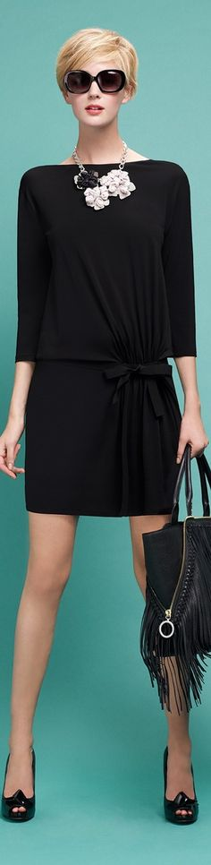 Style Essential: Interesting Facts About the Little Black Dress Look Fashion, Fashion Outfits, Womens Fashion, Fashion Design, Summer Outfits Women, Lovely Dresses, Mode Inspiration, Mode Style, Well Dressed