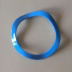 Vintage Blue Acrylic Scalloped Bracelet from LadyRay's Jewelry and Emporium/Marsha R. Moore for $5.00 on Square Market
