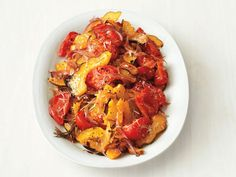 Roasted Squash and Tomatoes recipe from Food Network Kitchen via Food Network