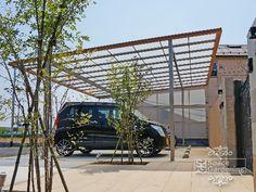 車庫 カーポート TOEX アーキデュオ Forest House, Architect Design, Garage, Park, City, Architects, Outdoor Decor, Home, Entryway