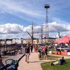 Kaunis, kesäinen #Helsinki. #helsinkiallas