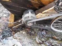 Free energy flywheel generator 2017 New - YouTube