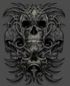 bone skull by ESIC on DeviantArt
