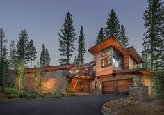 DM/KW to MA: Garage Door Design - Putter's Cabin - contemporary - Exterior - Sacramento - Ward-Young Architecture & Planning - Truckee, CA