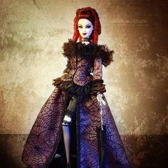 La Reine de la Nuit Barbie and Paris Doll Convention 2014 info Pretty Dolls, Beautiful Dolls, Barbie Convention, My Photo Gallery, Gothic Dolls, Dream Doll, Vintage Barbie Dolls, Barbie Collector, Monster High Dolls