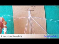 Merletto a tombolo - il mezzo punto - YouTube Needle Lace, Bobbin Lace, Irish Crochet, Crochet Lace, Lace Saree, Teneriffe, Lacemaking, Videos, Tatting