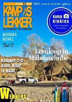 Kamp is Lekker Julie 2018 Tydskrif: Kamp is Lekker is 'n gemaklike kamptydskrif met stories, woonwa wenke en resepte van kampeerders in Suid Afrika Places To Visit, Comic Books, Words, Van, Cartoons, Comics, Vans, Comic Book, Horse