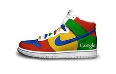 Nike - Geek shoes Google