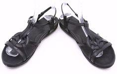 Born Børn Sandals Womens Sz 8 39 Opanka Black Leather Gladiator Ankle Strap EUC #Brn #Gladiator #Casual