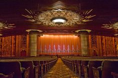 Stage of Paramount Theater, Oakland, California