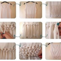 Cut the tshirt # Pin++ for Pinterest #