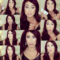 Jaclyn Hill (on Youtube jaclynhill1) IF YOU EVEN KIND OF SORTA LIKE MAKEUP SUBSCRIBE TO HER YOU WILL NOT BE SORRY SHE IS THE BEST MAKEUP ARTIST ON ALL OF THE INTERNET EVER