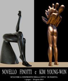 #Mostre a #Padova: Novello Finotti e Kim Young Won