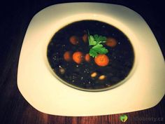 Hrstkova polévka  soup #fitness #instadaily #instagood #instafood #fitfood #instaphoto #carrots #lentils #soya #beans #fitlunch #fitness #lifestyle #lunch #soup #glutenfree #glutenfrei #bezlepku #čočka #sojoveboby #fazole #blacklentils Insta Photo, Lentils, Carrots, Beans, Soup, Pudding, Lunch, Lifestyle, Fitness