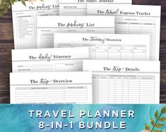 trip itinerary planner