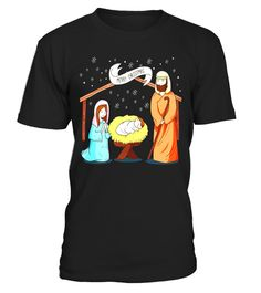 """# Lovely Portal Of Nativity Scene T Shirts 