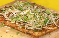 Thai Chicken Pizza Recipe : Rachael Ray : Food Network - FoodNetwork.com