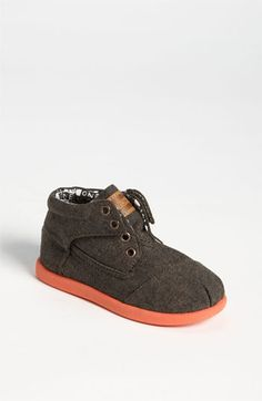 OMG I am getting this for our baby...TOMS 'Botas' Chambray Boot (Baby, Walker & Toddler) available at #Nordstrom
