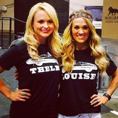 So my BFF and I have decided our code names are Carrie underwood and miranda lambert. Now we need these tees to prove it! Country Music Artists, Country Music Stars, Country Singers, Carrie Underwood Photos, Miranda Lambert, Celebs, Celebrities, Country Girls, Country Women