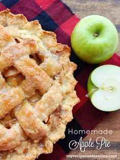 Homemade Apple Pie. Don't mess around with all the other apple pie recipes, because this one is the best one out there! I have always loved any kind of apple desserts. I have all types of apple recipes. This recipe is one of my all-time favorites. It is the classic apple pie with the perfect crust that your grandma use to make and it is the perfect addition to your thanksgiving recipes!