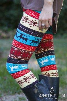 So many cute leggings on this site!
