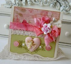 I Love You...Handmade Card