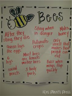 Mrs. Plants Press: Bees and Math Centers