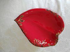 Svuotatasche in ceramica fatto e decorato a mano
