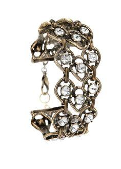 MANGO - TOUCH - Crystal embellished bracelet