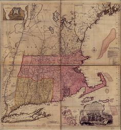 MAGIC Historical Map Collection - New England United States