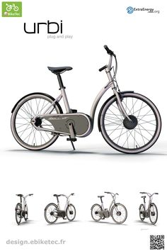 eBikeTec design contest public voting project: Urbi name: Thomas Samson Scooter Design, Electric Scooter, Bicycle, Public, Projects, Bicycle Kick, Blue Prints, Bicycles, Bmx
