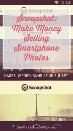 Many freelance and novice photographers have found a nice side income in selling photos online. Did you know you could also make money selling smartphone photos?