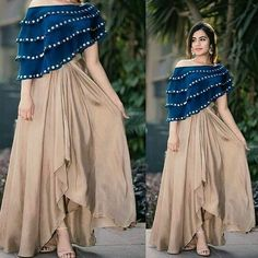 Book ur dress now Completely stitched Customised in all colours For booking ur dress plz dm or whatsapp at 9831775535 Designer Party Wear Dresses, Kurti Designs Party Wear, Lehenga Designs, Indian Designer Outfits, Fancy Blouse Designs, Designs For Dresses, Indian Gowns Dresses, Pakistani Dresses, Pakistani Suits