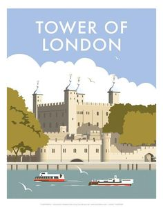 This Tower of London Art Print is created using state of the art, industry leading Digital printers. The result - a stunning reproduction at an affordable price. A stunning Art Print featuring the design of the Tower of London. Tower Of London, London Art, Party Vintage, Railway Posters, Poster Prints, Art Prints, Vintage Travel Posters, Portsmouth, London England