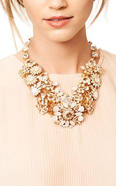 Blush beauty   statement necklace #katespade